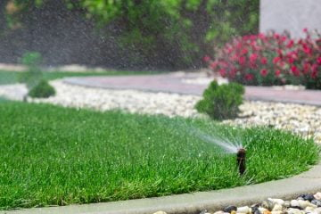 Rasenbewässerung
