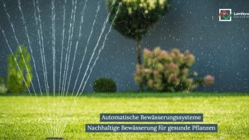 Automatische Bewässerungssysteme